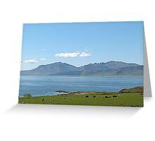 The Isle of Arran. Greeting Card