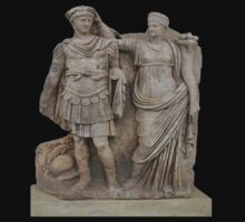 Nero and His Mother, Agrippina by taiche