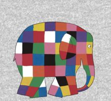 Elmer the Elephant- Small by carrieclarke
