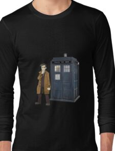 Looker and the Tardis Long Sleeve T-Shirt