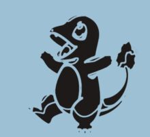 Charmander Dark Kids Clothes