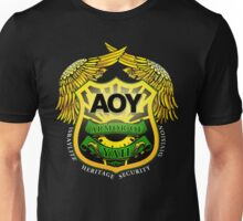 "Armor of YAH ""AOY"" Color (Black or Dark Shirt) Unisex T-Shirt"