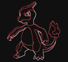 Charmeleon Outline by Xeno01
