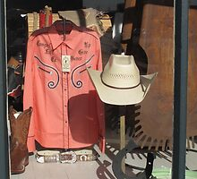 Shop Window - Hays, Kansas by Frank Romeo