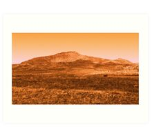 Mountain Top Art Print
