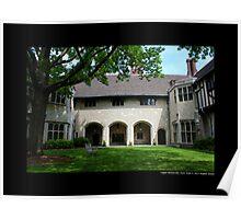 Coe Hall Historic House Museum - Upper Brookville, New York Poster