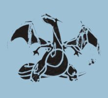 Charizard Dark Kids Clothes