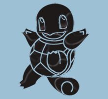 Squirtle Dark Kids Clothes