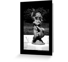 Planting Fields Arboretum State Historic Park Sculpture - Upper Brookville, New York Greeting Card
