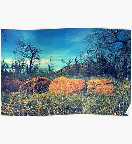 A Boulder View Poster