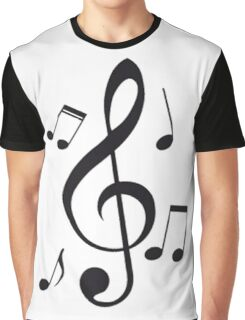Music Note  Graphic T-Shirt