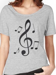 Music Note  Women's Relaxed Fit T-Shirt