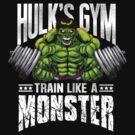 Hulk's Gym by ccourts86