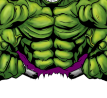 Hulk's Gym Sticker