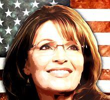 Sarah Palin Patriot by morningdance