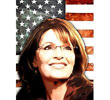 Sarah Palin Patriot Photographic Print