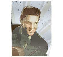 Vintage Elvis Poster