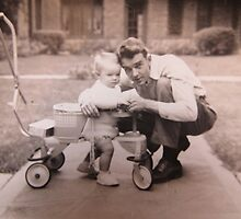 My Daddy and My Brother...1946..AS IS   by trueblvr