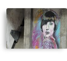 Street art, Oslo, Norway Canvas Print