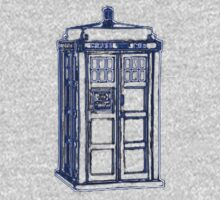 Tardis Blue Kids Tee