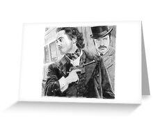 Sherlock Holmes & Doctor Watson Greeting Card