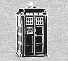 Tardis Cutout One Piece - Short Sleeve