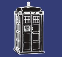 Tardis Cutout by Xeno01