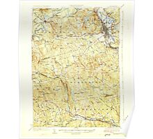 USGS TOPO Map New Hampshire NH Concord 329974 1927 62500 Poster