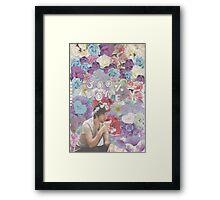 Jack Barakat in Flowers Framed Print