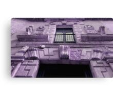purple house Canvas Print