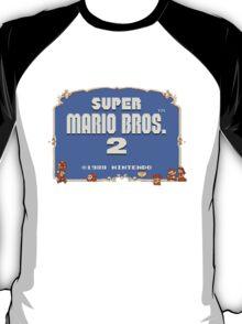 Super Mario Bros. 2 Title Screen T-Shirt