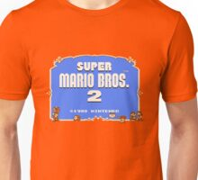 Super Mario Bros. 2 Title Screen Unisex T-Shirt