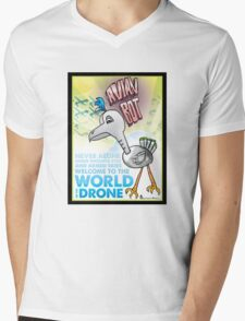 Avian Bot! Mens V-Neck T-Shirt