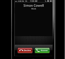 Famous Names Inbound Caller - Simon Cowell by concensio