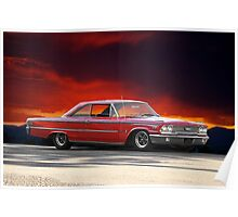 "1963 Ford Galaxie '427"" Poster"
