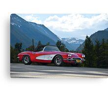 1961 Corvette Roadster Canvas Print