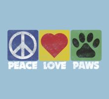 Peace Love Paws by digerati