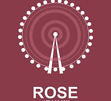 Minimalist 'Rose' Poster by Abboz