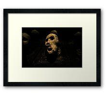 Pietra Volto Framed Print