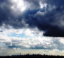 New York City Clouds by Alberto  DeJesus
