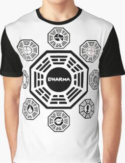 Lost Dharma Station Graphic T-Shirt