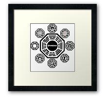 Lost Dharma Station Framed Print