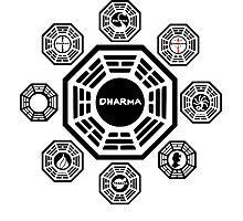 Lost Dharma Station Photographic Print