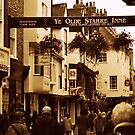 A Street In The 'Shambles' - York by Stan Owen