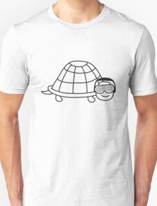Cute Party DJ Turtle T-Shirt