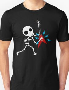 Guitar Skeleton Unisex T-Shirt