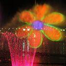 Vivid 2013 - Darling Harbour Flower by Kezzarama