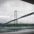 Lionsgate Bridge, Vancouver by bungeecow