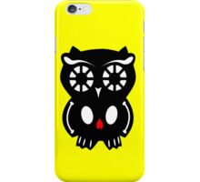 Skull Owl/ Yellow iPhone Case/Skin