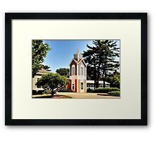 St John Newmann church Framed Print